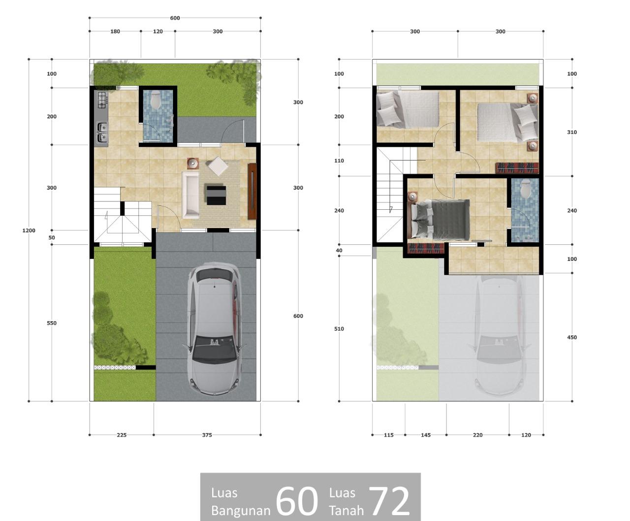 perumahan syariah bekasi kota - perumahan syariah bekasi timur - perumahan syariah mustikasari - layout 2 lantai - grand al ihsan premiere - grandalihsanpremiere