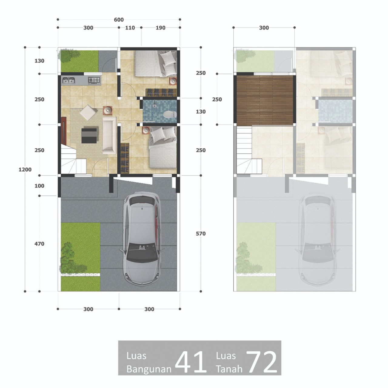 perumahan syariah bekasi kota - perumahan syariah bekasi timur - perumahan syariah mustikasari - layout 1 lantai 800x800 - grand al ihsan premiere - grandalihsanpremiere - nprosyar - davpropertysyariah